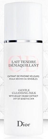 Dior Gentle Cleansing Milk (with velvet peony extract) 200ml Тестер