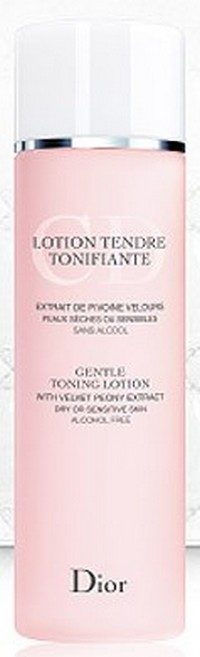 Dior Gentle Toning Lotion Alcohol Free (with velvet peony extract) 200ml Тестер